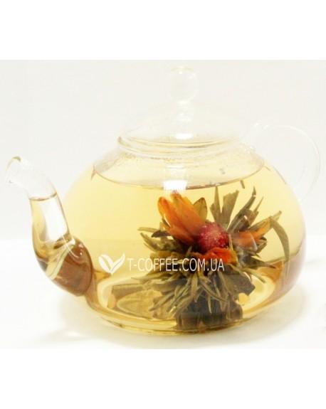 Огненный Бутон белый вязаный чай Османтус
