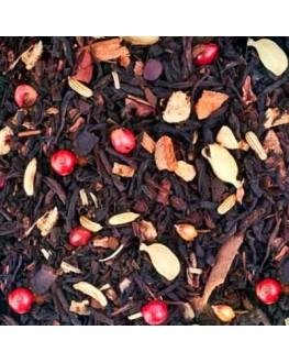 Вогняний Танок чорний ароматизований чай Країна Чаювання 100 г ф/п