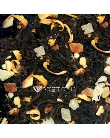 Сумашедший Апельсин черный ароматизированный чай Країна Чаювання 100 г ф/п