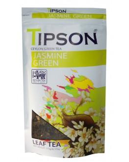 Чай TIPSON Jasmine Green Жасмин 175 г ф/п (4792252937369)