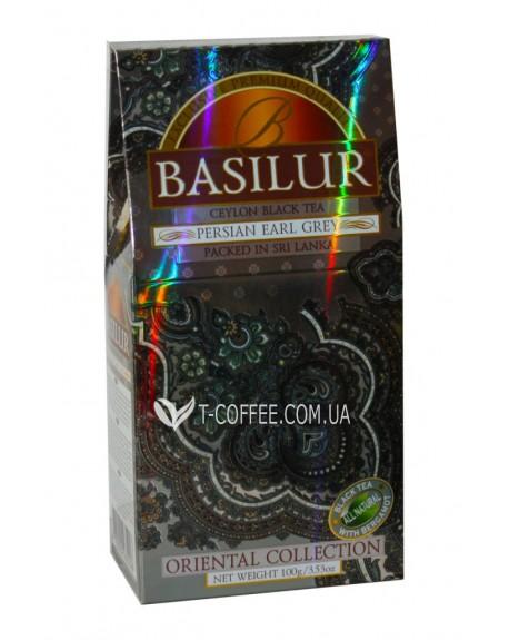 Чай BASILUR Persian Earl Grey Персидский Эрл Грей - Восточная 100 г к/п (4792252935228)