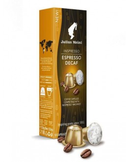 Кава JULIUS MEINL Inspresso Espresso Decaf в капсулах 10 х 5.3 г