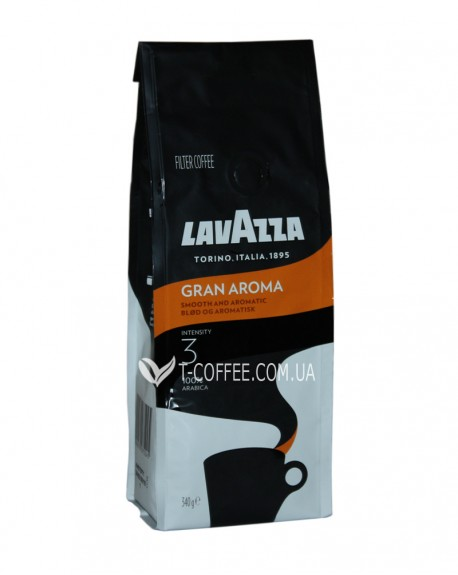 Кофе Lavazza Gran Aroma Medium Roast 250 г молотый