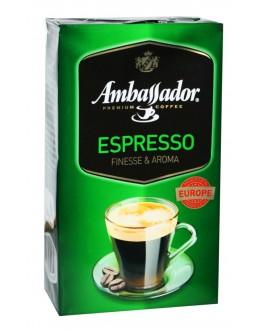 Кава AMBASSADOR Espresso мелена 250 г (8719325127126)
