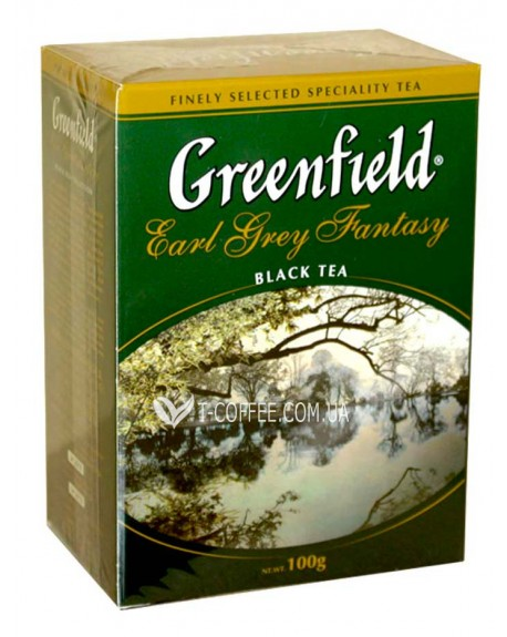 Чай Greenfield Earl Grey Fantasy Эрл Грей 200 г к/п (4823096801018)