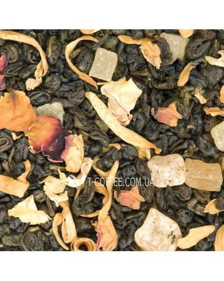Манговый Рай Премиум зеленый ароматизированный чай Країна Чаювання 100 г ф/п