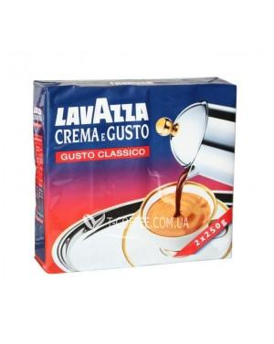 Кофе Lavazza Crema e Gusto Classico молотый 250 г (внутренний рынок)