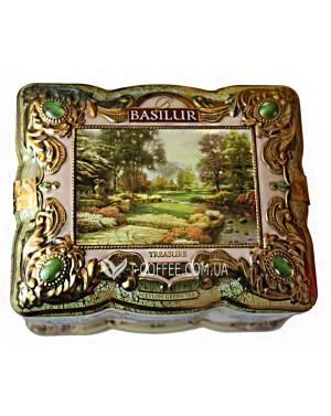 Чай BASILUR Onyx Оникс - Ларец 100 ж/б (4792252925557)