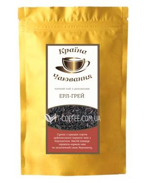 Эрл Грей Премиум черный ароматизированный чай Країна Чаювання 100 г ф/п