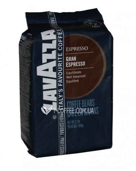 Кофе Lavazza Espresso Gran Espresso 1 кг зерновой