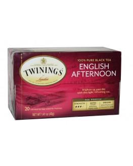 Чай TWININGS English Afternoon Англійський Полудень 20 х 2 г (070177155766)