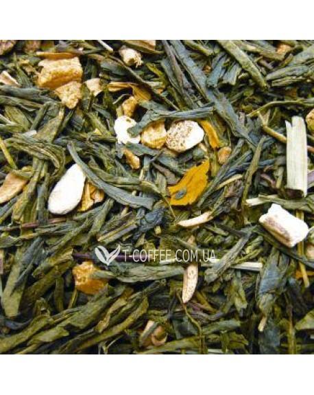 Зеленый с Имбирем зеленый ароматизированный чай Чайна Країна