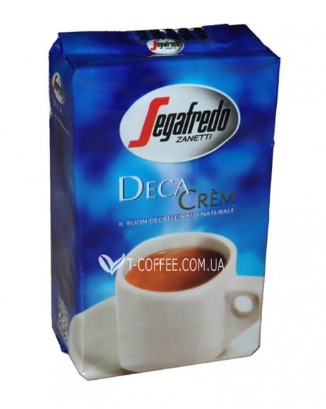 Кофе Segafredo Deca Crem без кофеина молотый 250 г