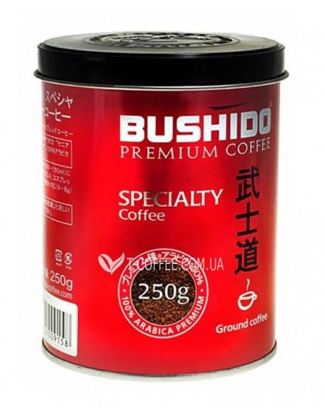 Кофе Bushido Specialty зерновой 250 г ж/б
