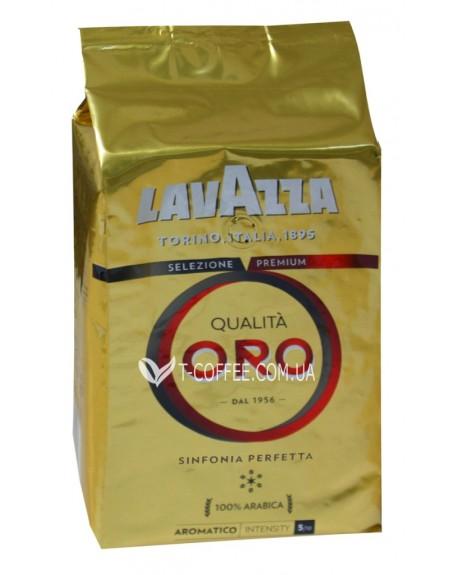 Кофе Lavazza Qualita Oro зерновой 1 кг (внутренний рынок) (8000070020559)