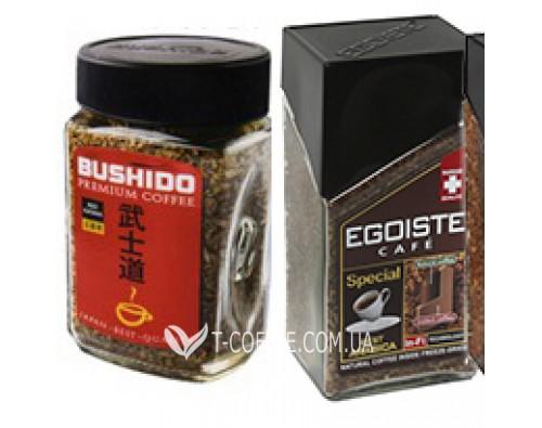 Снова в наличии! Растворимый кофе Bushido и Egoiste