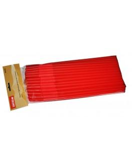 Трубочки для напоїв з вигином червоні, 50 шт. (8903138902364)