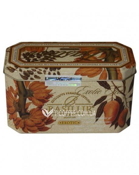 Чай BASILUR Exotic Экзотик - Праздничная 20 х 2 г ж/б