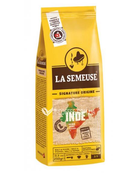 Кофе La Semeuse Inde зерновой 250 г