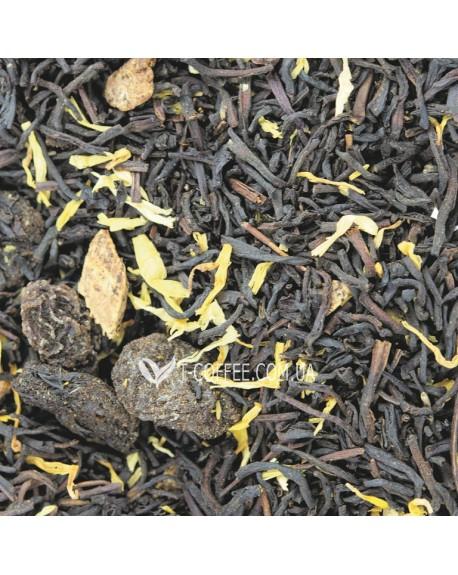 Остров Сокровищ черный ароматизированный чай Світ чаю