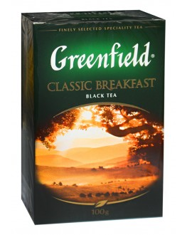 Чай GREENFIELD Classic Breakfast Классический Завтрак 100 г к/п (4823096801308)