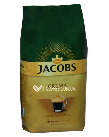 Кофе Jacobs Crema зерновой 1 кг (8711000539217)