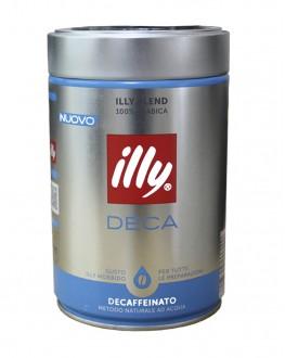 Кава ILLY Espresso Deca без кофеїну мелена 250 г ж/б