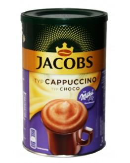 Капучино JACOBS Cappuccino Choco с шоколадом MILKA 500 г ж/б (8711000525098)