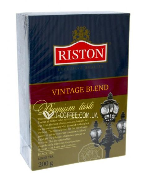 Чай Riston Vintage Blend Винтаж Бленд 200 г к/п