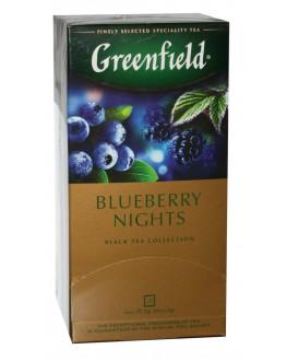 Чай GREENFIELD Blueberry Nights Черника Ежевика 25 х 1,5 г (4823096806020)