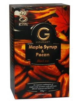 Чай GRACE! Gourmet Maple Syrup Pecan Кленовий Сироп Горіх Пекан 20 х 1,75 г (5060207697316)