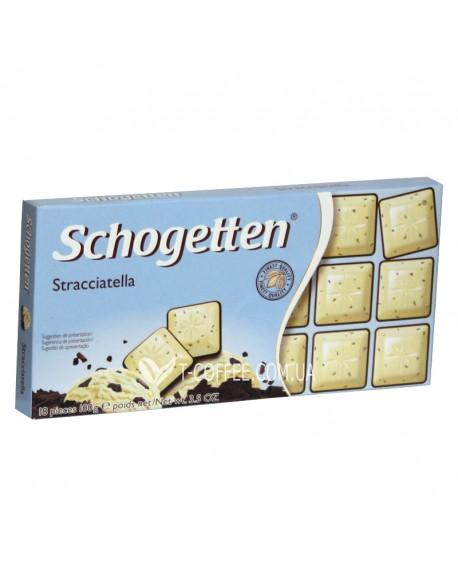 Шоколад Schogetten Stracciatella Страчателла 100 г