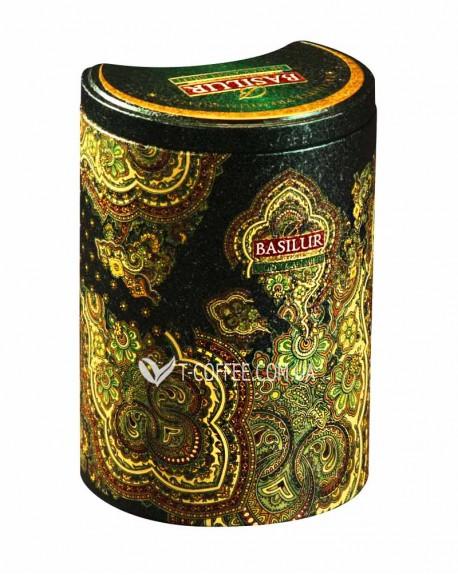 Чай BASILUR Moroccan Mint Марокканская Мята - Восточная 100 г ж/б (4792252100541)