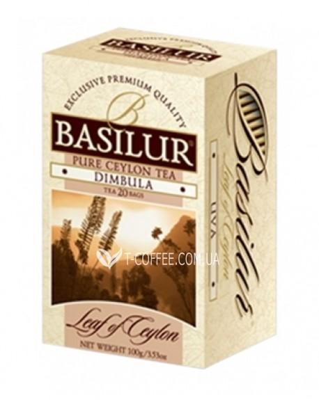 Чай BASILUR Dimbula Димбула - Лист Цейлона 20 х 2 г (4792252001213)