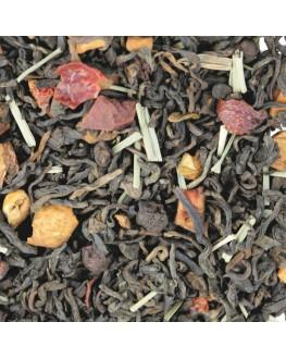 Пу Эр Фитнес черный ароматизированный Світ чаю