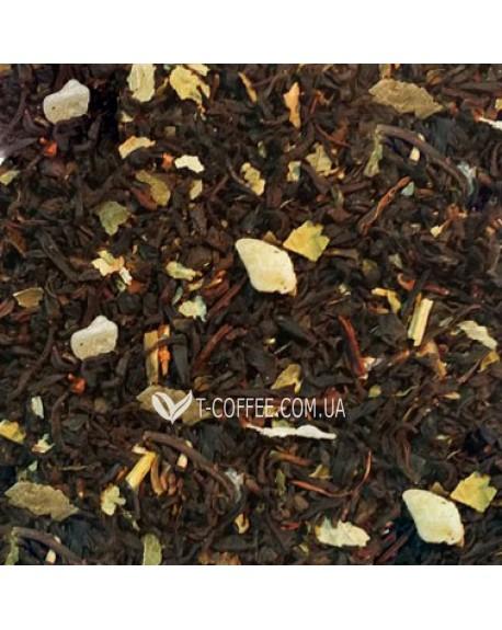 Клубничный Рай черный ароматизированный чай Країна Чаювання 100 г ф/п
