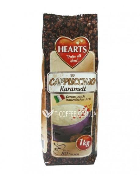 Капучино Hearts Karamell Карамель 1 кг (4021155122252)