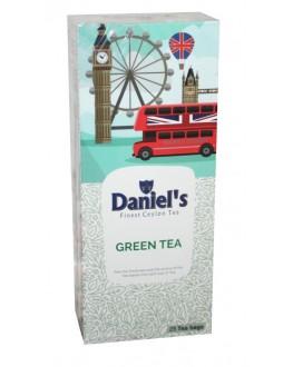 Чай DANIEL'S Green Tea 25 х 2 г к/п (4796017690469)