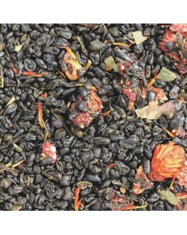 Іскри Шампанського зелений ароматизований чай Світ чаю