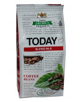 Кава TODAY Arabica Premium Blend № 8 зернова 200 г (5060300570431)