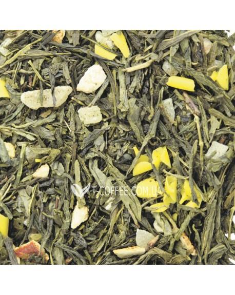 Мон Амур зеленый ароматизированный чай Світ чаю
