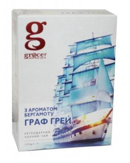Чай GRACE! Earl Grey Граф Грей - Бестселер 100 г к/п (5060207692649)