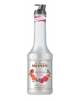 Фруктове пюре MONIN Red Berries Червоні Ягоди 1 л