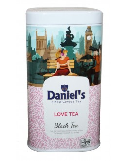 Чай DANIEL'S Love Tea Black Tea 100 г ж/б (4796017690544)