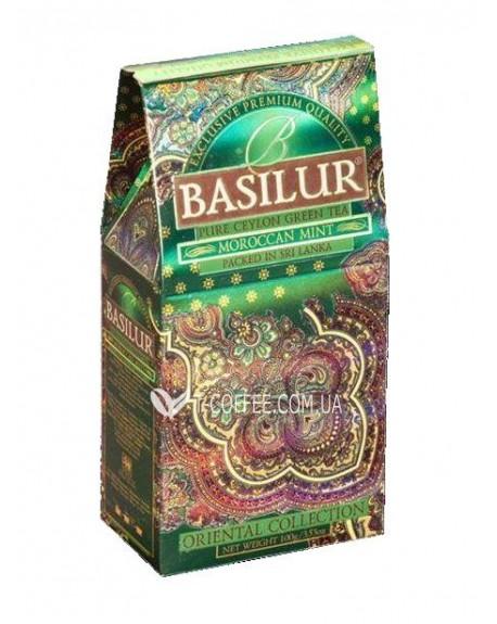 Чай BASILUR Moroccan Mint Марокканская Мята - Восточная 100 г к/п (4792252916487)