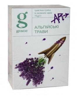 Чай GRACE! Alpine Herbs Альпійські Трави - Бестселер 75 г к/п (5060207692366)