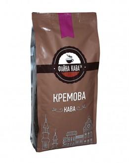 Кава ФАЙНА КАВА Кремова Кава зернова 1 кг (4820195670064)