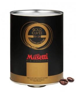 Кофе MUSETTI Gold Cuvee зерновой 2 кг ж/б