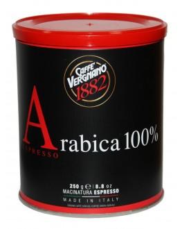 Кава CAFFE VERGNANO Arabica 100% Espresso мелена 250 г ж/б (8001800001541)