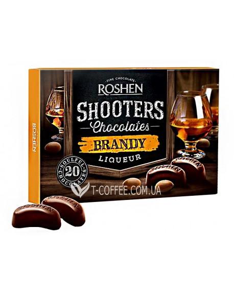 Конфеты Roshen Shooters Brandy Бренди 150 г в коробке